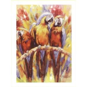 """Kunstdruck """"Edith van der Wissel - Aras Rouge"""""""