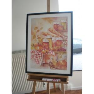 """Kunstdruck """"Jan Kooistra - Our Daily Bread"""""""