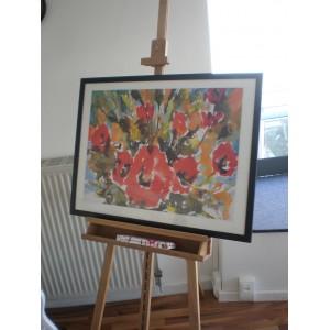 "Kunstdruck ""Nitza Flantz - Bouquet of Anemones"""