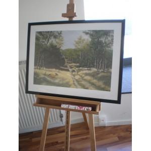 """Kunstdruck """"Onno Van Daalhuizen - Forest Lane"""""""
