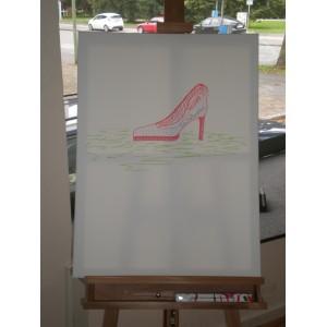 Peter Nottmeier gemaltes Bild zugunsten einer Charity Auktion