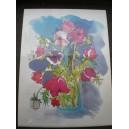 Kunstdruck - Blumen