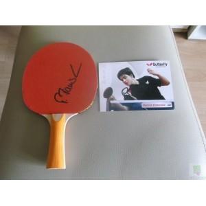 Tischtennis Schläger, Patrick Franziska signiert