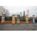 Berliner Mauer 2,7 t schweres Mauersegment